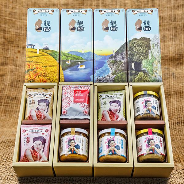 靚hó花蓮縣禮禮盒(四盒一組) 1